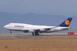 あおいそらさんが、関西国際空港で撮影したルフトハンザドイツ航空 747-430の航空フォト(飛行機 写真・画像)