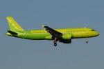 ぼんやりしまちゃんさんが、ドモジェドヴォ空港で撮影したS7航空 A320-214の航空フォト(飛行機 写真・画像)