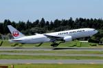 キットカットさんが、成田国際空港で撮影した日本航空 777-246/ERの航空フォト(写真)