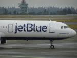 worldstar777さんが、シアトル タコマ国際空港で撮影したジェットブルー A321-231の航空フォト(写真)