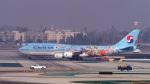 LAX Spotterさんが、ロサンゼルス国際空港で撮影した大韓航空 747-8B5の航空フォト(写真)