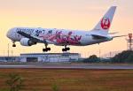 くれないさんが、高松空港で撮影した日本航空 767-346/ERの航空フォト(写真)