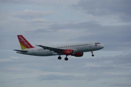 JA8037さんが、プーケット国際空港で撮影したタイ・ベトジェットエア A320-214の航空フォト(飛行機 写真・画像)