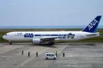 ひよっこさんが、山口宇部空港で撮影した全日空 767-381/ERの航空フォト(写真)