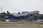 もぐ3さんが、成田国際空港で撮影したアエロフロート・ロシア航空 777-3M0/ERの航空フォト(飛行機 写真・画像)