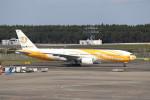 utarou on NRTさんが、成田国際空港で撮影したノックスクート 777-212/ERの航空フォト(写真)