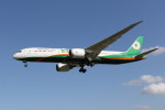 utarou on NRTさんが、成田国際空港で撮影したエバー航空 787-9の航空フォト(写真)