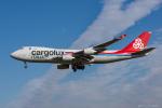 ぱん_くまさんが、成田国際空港で撮影したカーゴルクス・イタリア 747-4R7F/SCDの航空フォト(写真)