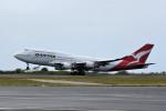 kuro2059さんが、ダニエル・K・イノウエ国際空港で撮影したカンタス航空 747-48Eの航空フォト(飛行機 写真・画像)