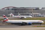 安芸あすかさんが、羽田空港で撮影したブリティッシュ・エアウェイズ 777-336/ERの航空フォト(写真)