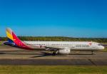 Cygnus00さんが、新千歳空港で撮影したアシアナ航空 A321-231の航空フォト(写真)