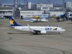 ヒロリンさんが、中部国際空港で撮影したスカイマーク 737-8ALの航空フォト(写真)