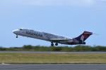 kuro2059さんが、ダニエル・K・イノウエ国際空港で撮影したハワイアン航空 717-2CMの航空フォト(飛行機 写真・画像)