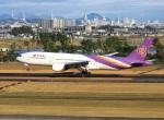 garrettさんが、仙台空港で撮影したタイ国際航空 777-2D7/ERの航空フォト(写真)