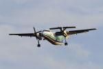 mocohide☆さんが、福岡空港で撮影したオリエンタルエアブリッジ DHC-8-201Q Dash 8の航空フォト(写真)