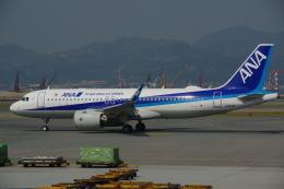 JA8037さんが、香港国際空港で撮影した全日空 A320-271Nの航空フォト(飛行機 写真・画像)