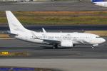 Chofu Spotter Ariaさんが、羽田空港で撮影したジェット・アヴィエーション・フライト・サービス 737-7HE BBJの航空フォト(飛行機 写真・画像)
