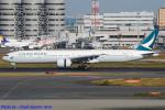 Chofu Spotter Ariaさんが、羽田空港で撮影したキャセイパシフィック航空 777-367/ERの航空フォト(写真)
