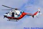 れんしさんが、日本-某所で撮影した山口県消防防災航空隊 BK117C-1の航空フォト(写真)