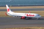 yabyanさんが、中部国際空港で撮影したタイ・ライオン・エア 737-8GPの航空フォト(飛行機 写真・画像)
