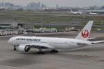 turenoアカクロさんが、羽田空港で撮影した日本航空 777-246/ERの航空フォト(写真)