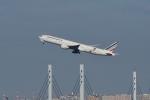 飛行機ゆうちゃんさんが、羽田空港で撮影したエールフランス航空 777-328/ERの航空フォト(写真)