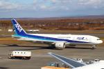 セブンさんが、新千歳空港で撮影した全日空 777-281の航空フォト(写真)