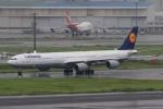 Hiro-hiroさんが、羽田空港で撮影したルフトハンザドイツ航空 A340-642の航空フォト(写真)