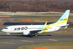 セブンさんが、新千歳空港で撮影したAIR DO 737-781の航空フォト(飛行機 写真・画像)