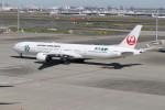 utarou on NRTさんが、羽田空港で撮影した日本航空 777-346/ERの航空フォト(写真)