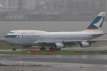 Hiro-hiroさんが、羽田空港で撮影したキャセイパシフィック航空 747-467の航空フォト(写真)