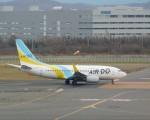 まひろさんが、新千歳空港で撮影したAIR DO 737-781の航空フォト(飛行機 写真・画像)