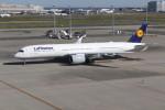 utarou on NRTさんが、羽田空港で撮影したルフトハンザドイツ航空 A350-941XWBの航空フォト(写真)