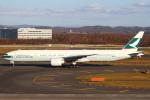セブンさんが、新千歳空港で撮影したキャセイパシフィック航空 777-367/ERの航空フォト(飛行機 写真・画像)