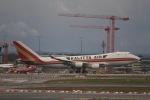 344さんが、フランクフルト国際空港で撮影したカリッタ エア 747-4R7F/SCDの航空フォト(写真)