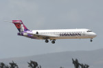 kuro2059さんが、ダニエル・K・イノウエ国際空港で撮影したハワイアン航空 717-22Aの航空フォト(写真)