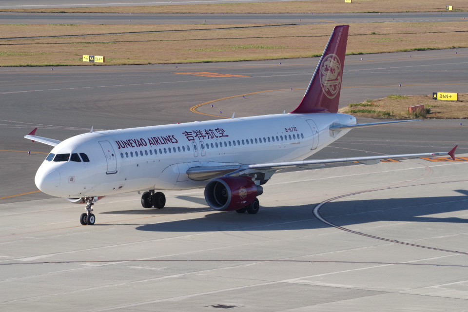 yabyanさんの吉祥航空 Airbus A320 (B-6735) 航空フォト