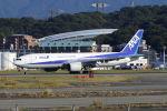 mocohide☆さんが、福岡空港で撮影した全日空 777-281の航空フォト(写真)