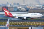 AIRFORCE ONEさんが、羽田空港で撮影したカンタス航空 747-438/ERの航空フォト(写真)