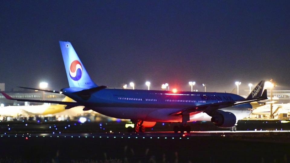パンダさんの大韓航空 Airbus A330-300 (HL8027) 航空フォト