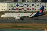 板付蒲鉾さんが、福岡空港で撮影した青島航空 A320-214の航空フォト(写真)