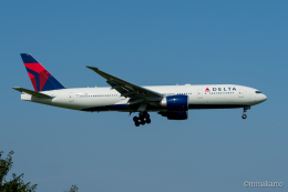 みなかもさんが、成田国際空港で撮影したデルタ航空 777-232/LRの航空フォト(飛行機 写真・画像)