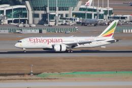 OMAさんが、仁川国際空港で撮影したエチオピア航空 787-8 Dreamlinerの航空フォト(写真)