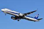 森の美玲Pさんが、函館空港で撮影した全日空 A321-272Nの航空フォト(写真)