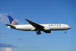 udaさんが、成田国際空港で撮影したユナイテッド航空 777-222/ERの航空フォト(飛行機 写真・画像)