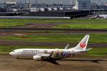 udaさんが、羽田空港で撮影した日本航空 737-846の航空フォト(飛行機 写真・画像)
