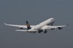 kuro2059さんが、中部国際空港で撮影したルフトハンザドイツ航空 A340-642の航空フォト(飛行機 写真・画像)