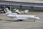 kumagorouさんが、仙台空港で撮影したjet Concierge Club Falcon 7Xの航空フォト(飛行機 写真・画像)