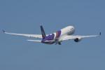 kuro2059さんが、中部国際空港で撮影したタイ国際航空 A350-941の航空フォト(飛行機 写真・画像)