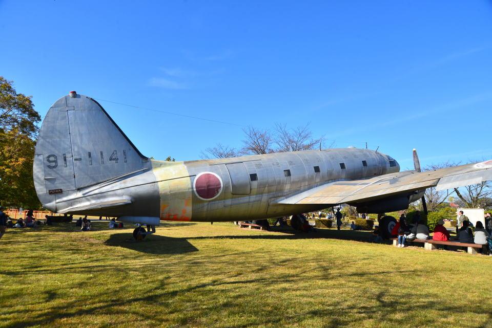 md11jbirdさんの航空自衛隊 Curtiss C-46 Commando (91-1141) 航空フォト